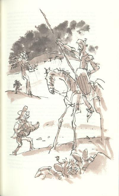 Квентин Блейк - известный британский иллюстратор в основном детской литературы. Лауреат всевозможных книжно-иллюстраторских премий. По-моему он лауреат…