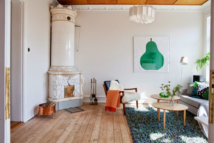Old meets new in a Malmö home