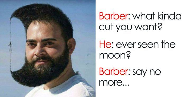 30 Terrible Haircuts That Were So Bad They Became Say No More Memes Say No More Meme Haircut Memes Barber Memes