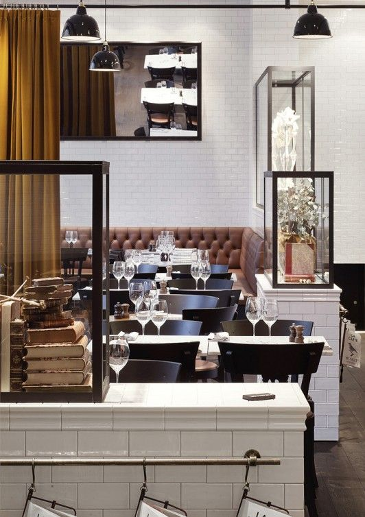 Restaurant Museet in Stockholm - Project by Richard Lindvall