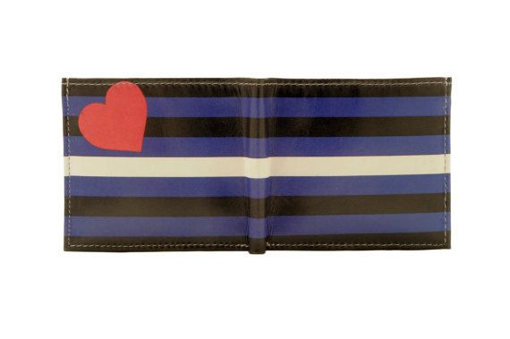 from Frankie gay pride leather wallets