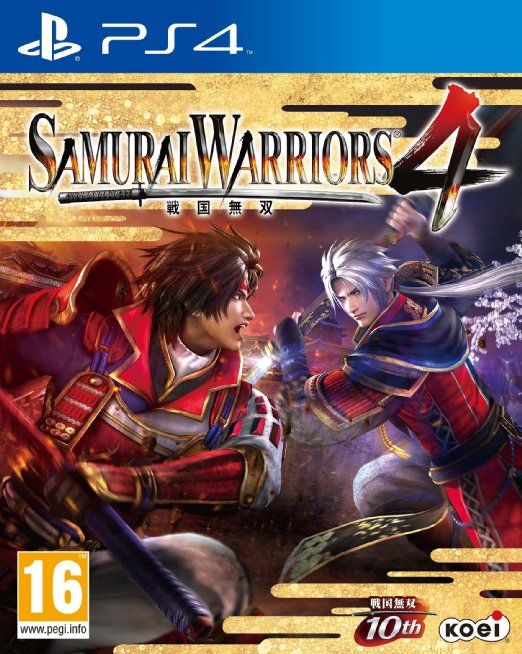 Samurai Warriors 4 (PS4) // http://amzn.to/23RHCdE