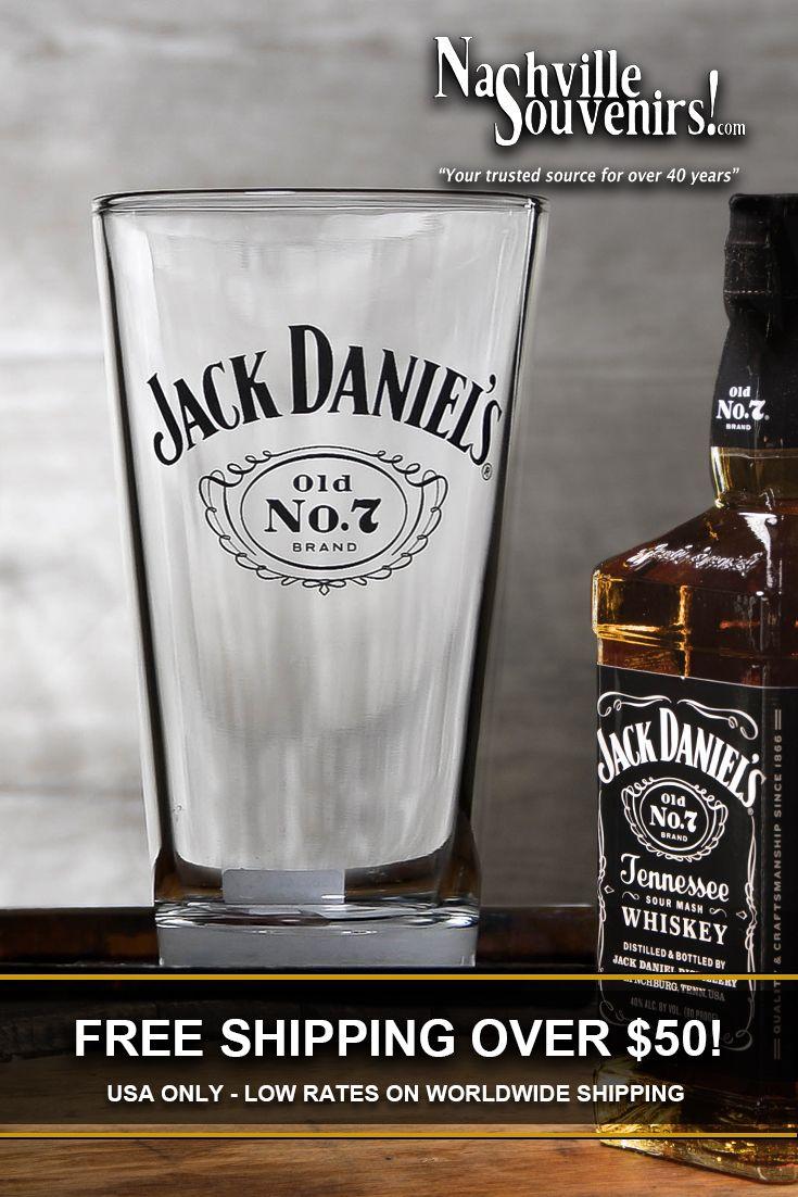 Jack Daniels Licensed Barware Cameo Shot Glass