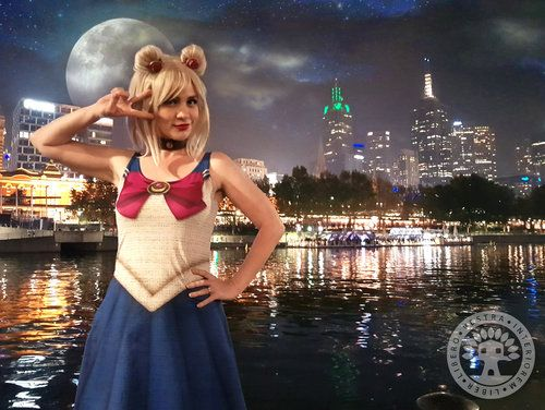 Sailor Moon Scout Flare Dress by ClubHouse Collective