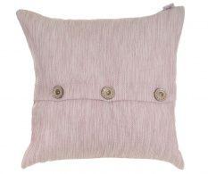 Fata de perna Buttons Pink 43x43 cm
