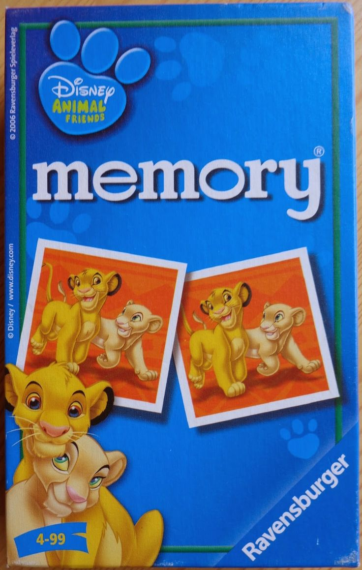 Disney Animal Friends The Lion King memory game