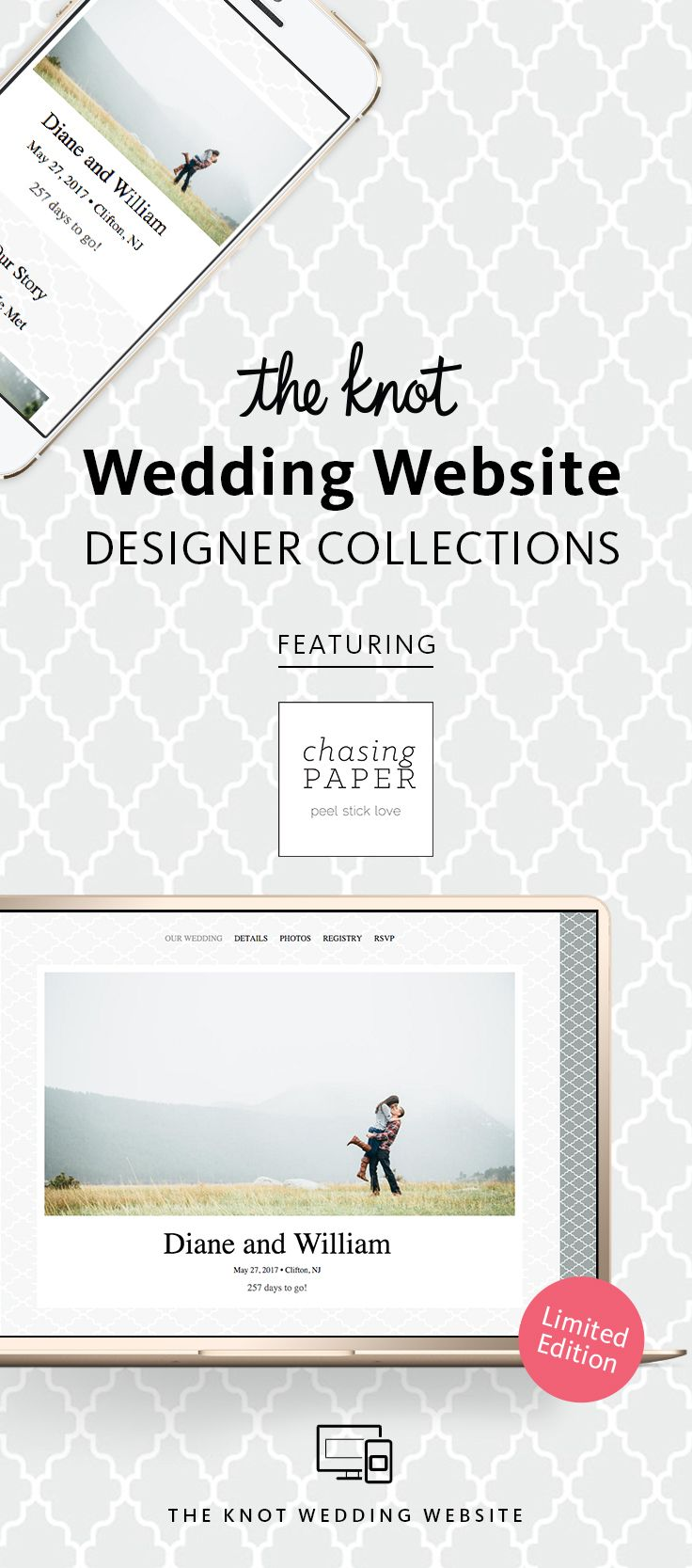 Best wedding website options