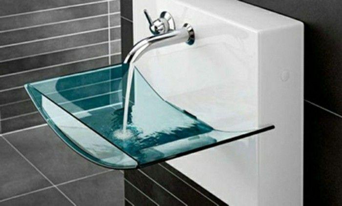 Genial glas waschbecken