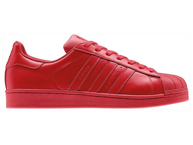 "Adidas x Pharrell Williams Superstar ""Supercolor Pack"" Chaussures Pas Cher Pour Homme rouge Originals S41833"