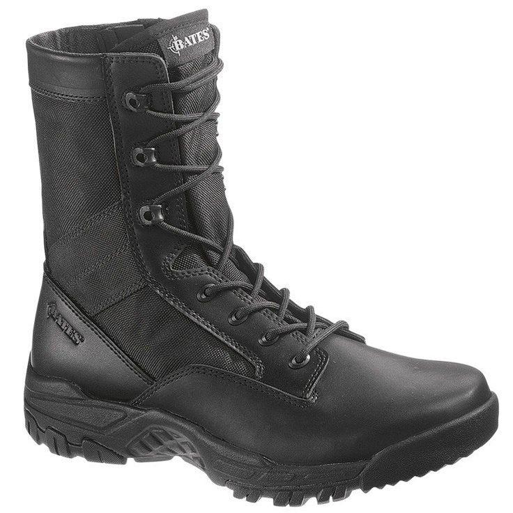"""Bates Men's Zero Mass 8"""" Side Zip Boots"""