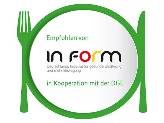 IN FORM und die Deutsche Gesellschaft für Ernährung (DGE) führen ein neues Logo ein. EAT SMARTER erklärt was es damit auf sich hat!