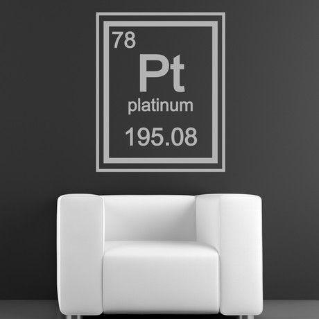 Platinum Periodic Table Element