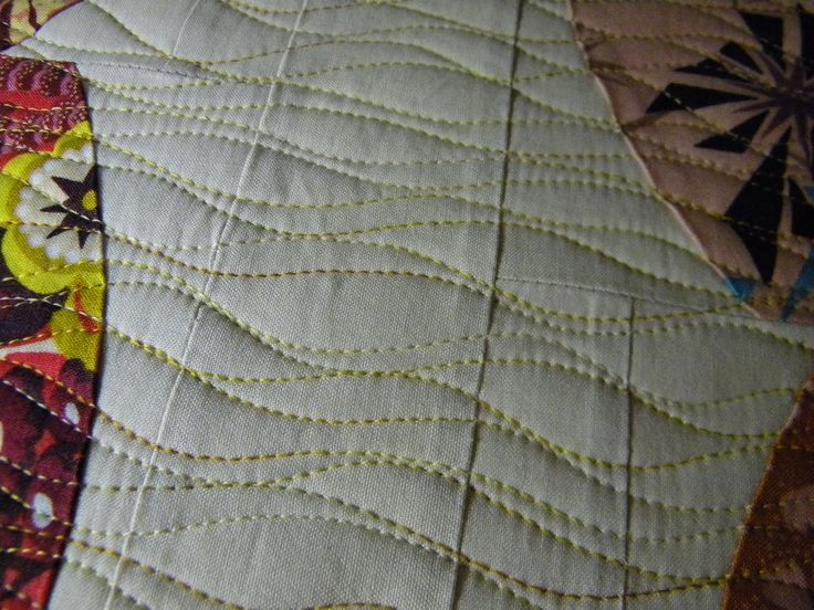 1000+ images about wavy line quilting on Pinterest | Quilting ... : quilting lines - Adamdwight.com