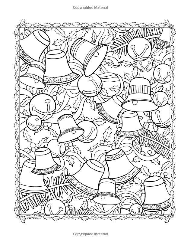 Creative Haven ChristmasScapes Coloring Book (Creative Haven Coloring Books): Jessica Mazurkiewicz: 9780486791876: Amazon.com: Books