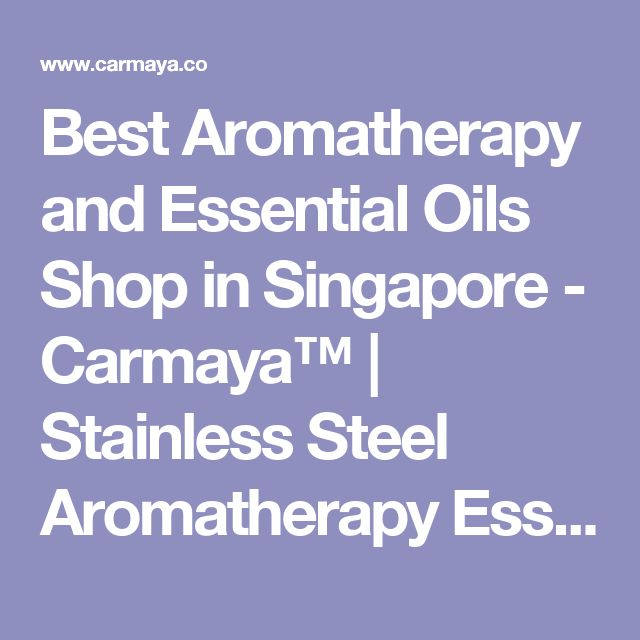 Best Aromatherapy and Essential Oils Shop in Singapore - Carmaya™ | Stainless Steel Aromatherapy Essential Oil Diffuser with Free Chain and 8 Pads