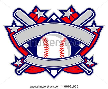 Vector Download » A dynamic baseball template featuring stars ...