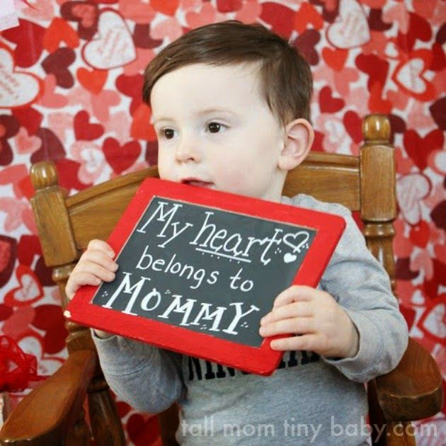 Tall Mom Tiny Baby Toddler Valentine S Day Mini Photo Session Ideas