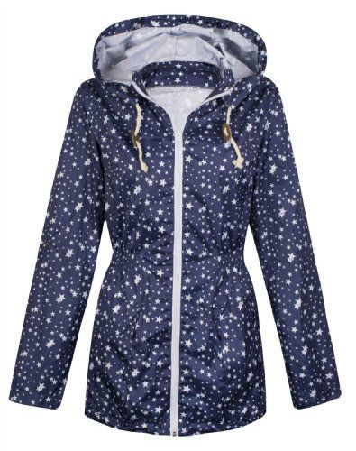 Image result for star print ladies raincoat