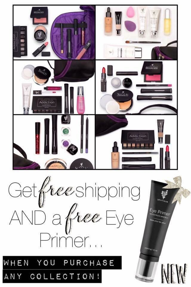 It's November so that means Christmas is right around the corner!  but don't worry! Younique has amazing  collections to choose from! Did I mention the Novembers kudos you'll get for FREE with 130$ purchase?! Yeah, amazinggg. Please don't hesitate to ask any questions you may have.