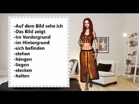 Bildbeschreibung lernen Sie die wichtigsten Wörter auf Deutsch - YouTube