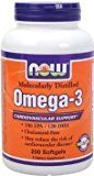 Now Foods Omega-3 1000mg 200 Softgels(Size: 200) - https://www.trolleytrends.com/?p=559815