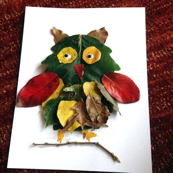 Here are a bunch of leaf animal crafts for the kids to make this fall! Find owls, foxes, birds, and elephants!