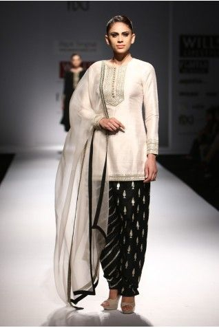 Payal Singhal Indian Wear Collection : SANOBER  PATIALA SUIT