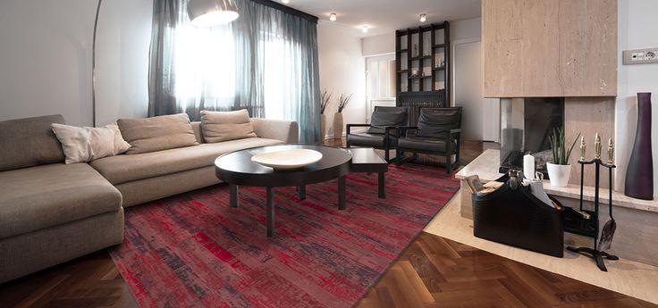 "Ковер ""Мозаика"" красного цвета Red Max/rug Antique  #carpet #carpets #rugs #rug #interior #designer #ковер #ковры #дизайн #antique #marqis"