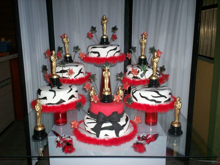 hollywood cakes | Tortas Hollywood