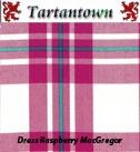 Swatch of Dress Raspberry MacGregor #macgregor #pink #tartan