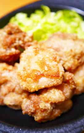 鶏胸肉のジューシー塩唐揚げ