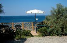 Camping Miramare Toskana Stellplätze direct am Meer
