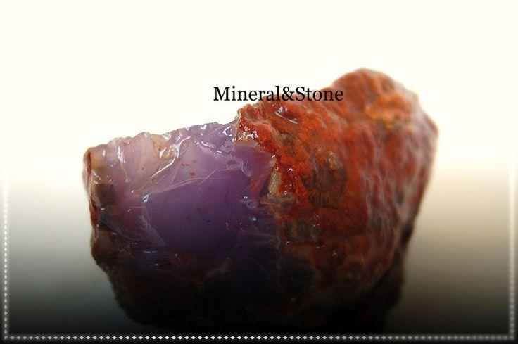 Anatolia Chalcedony Purple-Lavender Color Natural Rough 185 GRAM FROM / TURKEY #MineralStone