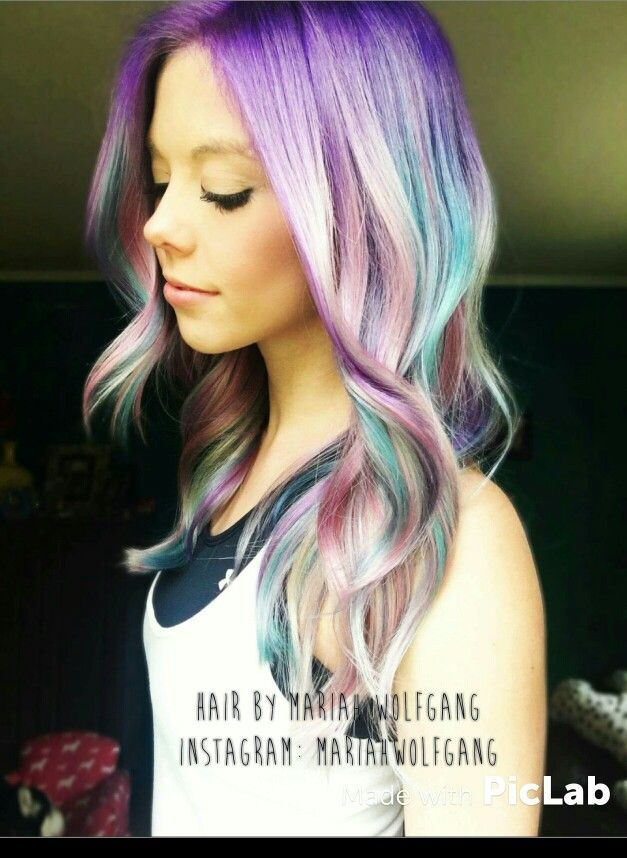 Pastel / Opal / colorful hair