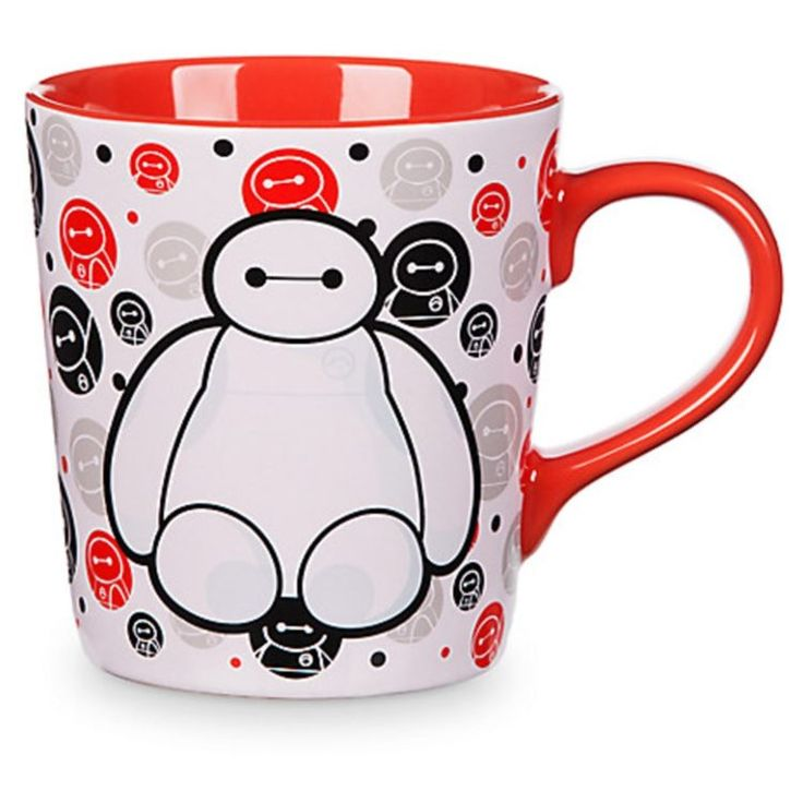 Baymax Big Hero 6 Coffee Cup Disney Store