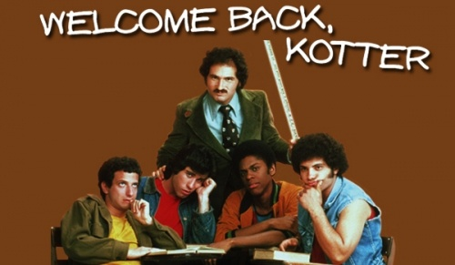 "Welcome back Kotter, featuring John Travolta, aired on the ABC network from September 9, 1975 to June 8, 1979. The show starred comedian Gabe Kaplan as the title character Gabe Kotter, a wisecracking teacher who returns to his high school alma mater—the fictional James Buchanan High in Brooklyn, New York—to teach an often unruly group of remedial wiseguys known as the ""Sweathogs."""