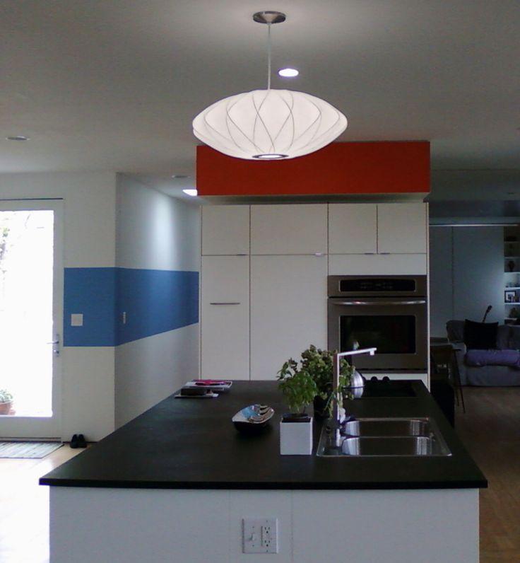 19 best Cuisine Blanche images on Pinterest Glass, Cabinet and Compact - hotte integree dans meuble haut
