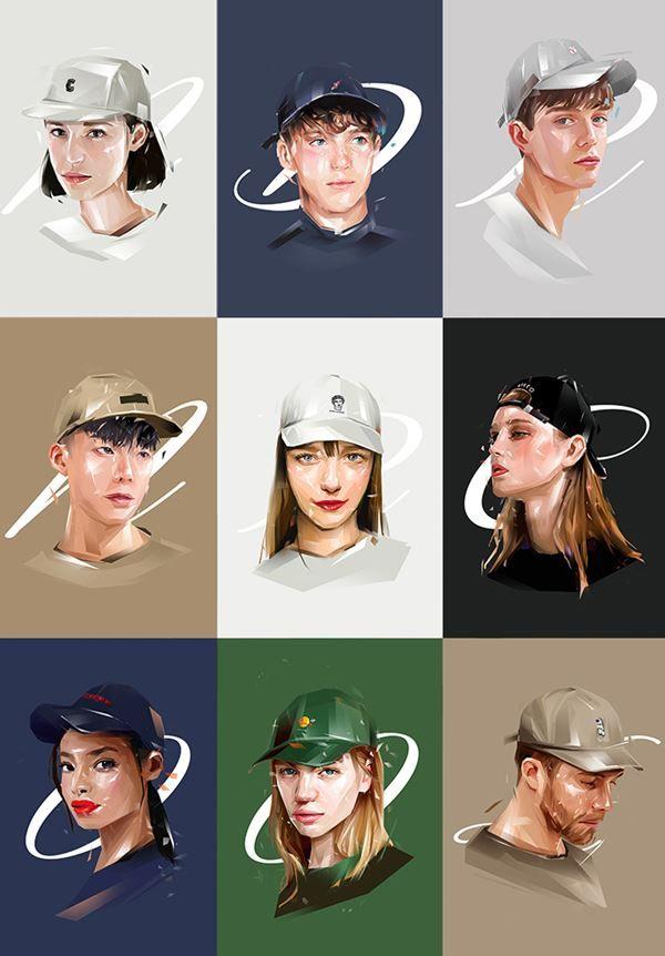 심플해서 좋은 모자