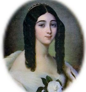 Tombe de Marie Duplessis - Alphonsine du Plessis - La Dame aux Camélias..... Cimetière Montmartre.