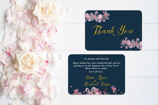 Wedding Gift Etiquette Ireland : ... wedding thank you cards card ideas wedding stuff navy weddings blog