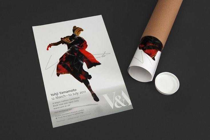 Yohji Yamamoto / V Exhibition, 1/4.    Peter Saville, Marc Ascolli, Nick Knight.