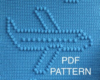 Elephant Baby Blanket Pattern Crochet Pattern by TheBabyCrow