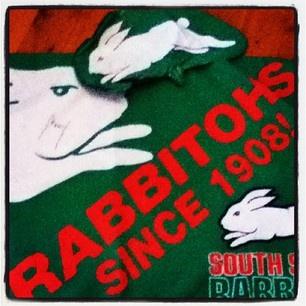 Rabbitohs since 1908. Courtesy of @ awesomepro on Instagram