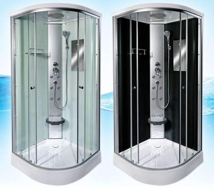 AcquaVapore DTP10 Dusche in 80x80, 90x90 oder 100x100