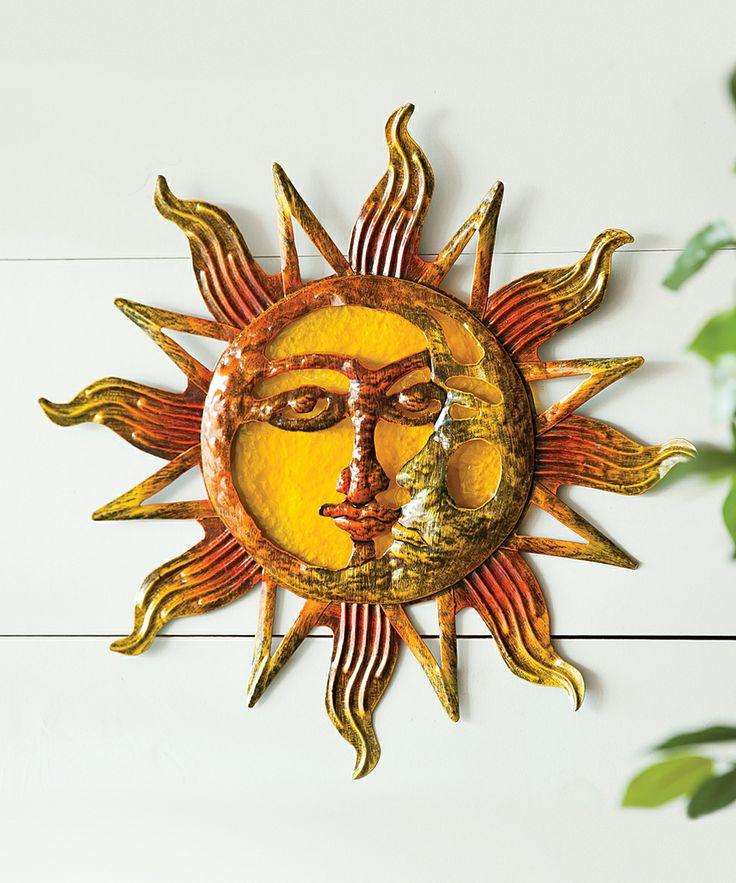Yellow Sun Wall Decor : Best sun moon art images on