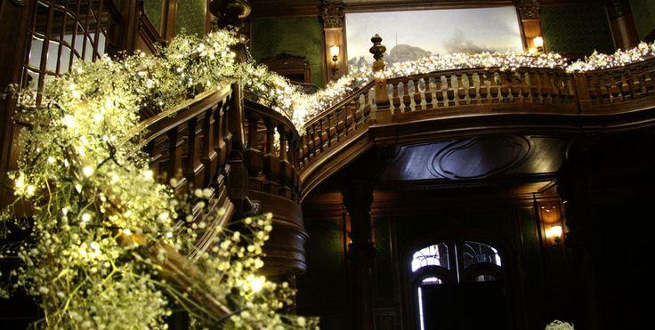 Wesele gipsówkowe w Pałacu Goetz | Floral