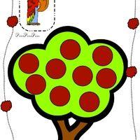 Le pommier est un petit jeu pour discriminer le son [p]. Cette fois-ci, tous les enfants jouent ensemble pour remplir le pommier de pommes dont les dessins contiennent le son [p]. le pommier Le jeu...