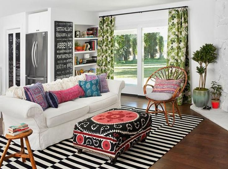 Palm Leaf Curtains Google Search Living Room Love