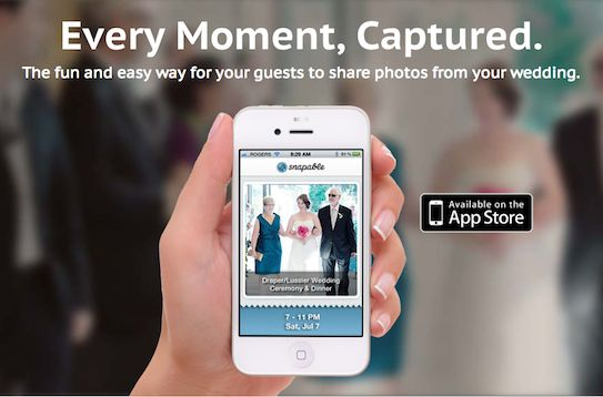 The best way to collect all of the photos your guests take at your wedding!