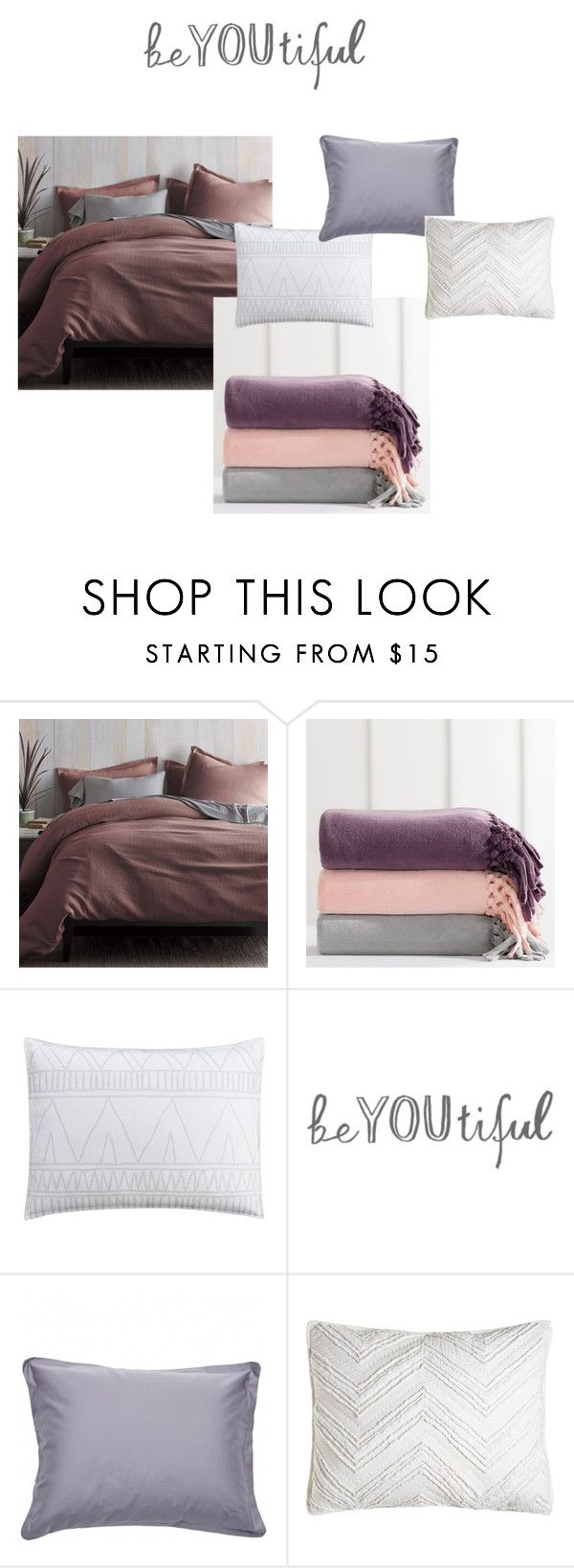 """""""bedhead"""" by heddastoltnielsen on Polyvore featuring interior, interiors, interior design, home, home decor, interior decorating, PBteen, cupcakes and cashmere, GANT and C & F"""